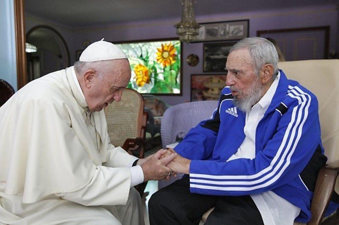 2015 | Junto a Fidel Castro en La Habana