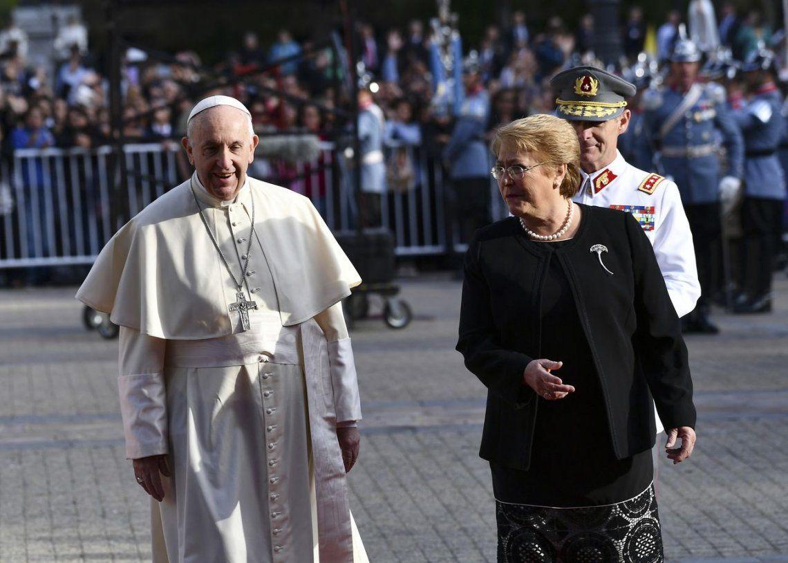 2018 | Junto aMichelle Bachelet durante su visita a Chile.