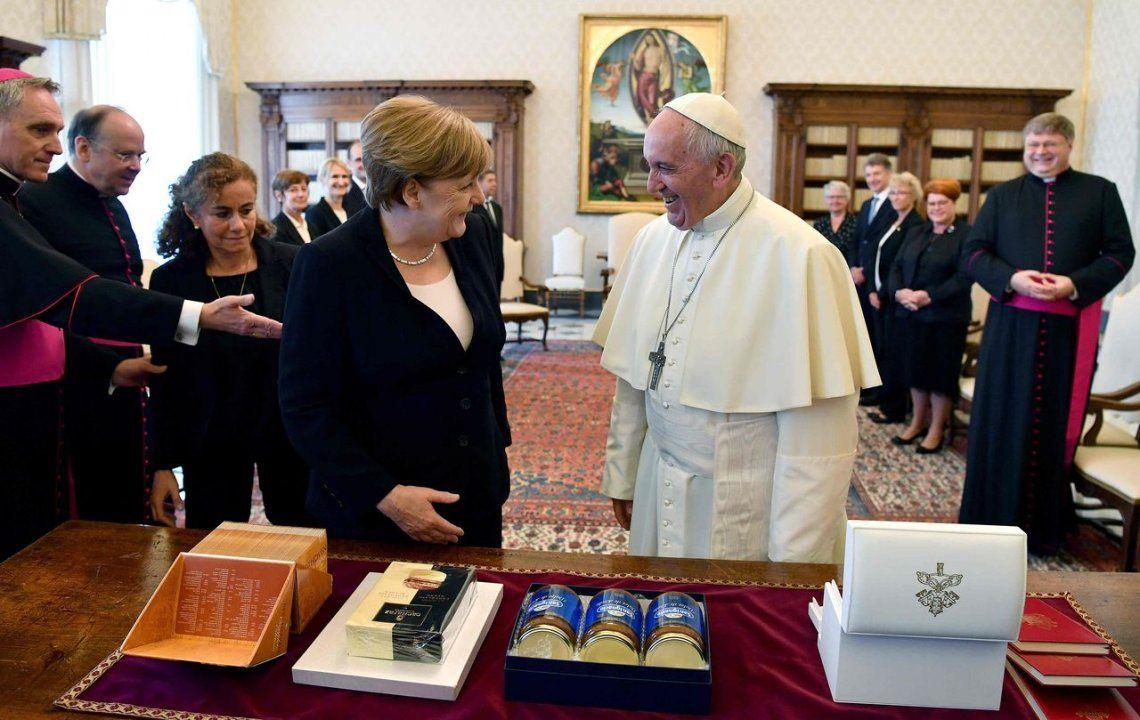 2017 | Visita de Angela Merkel.