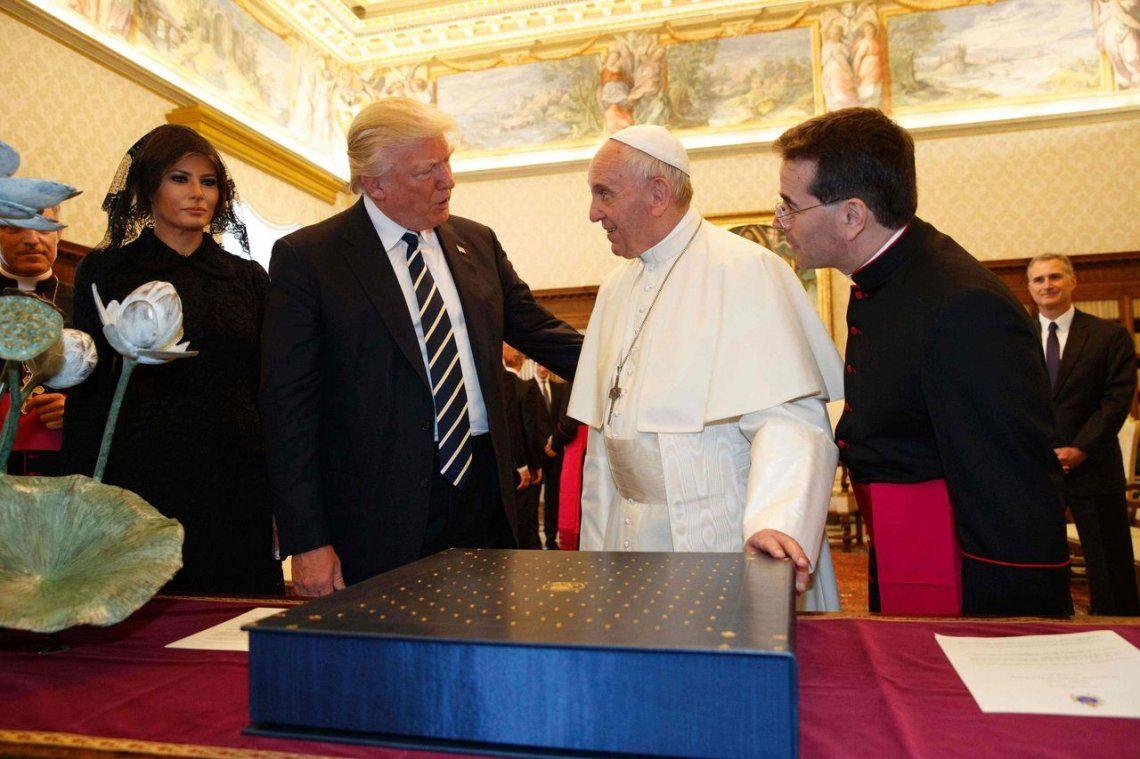 2017 | Reunión entre el Papa Francisco y Donald Trump.