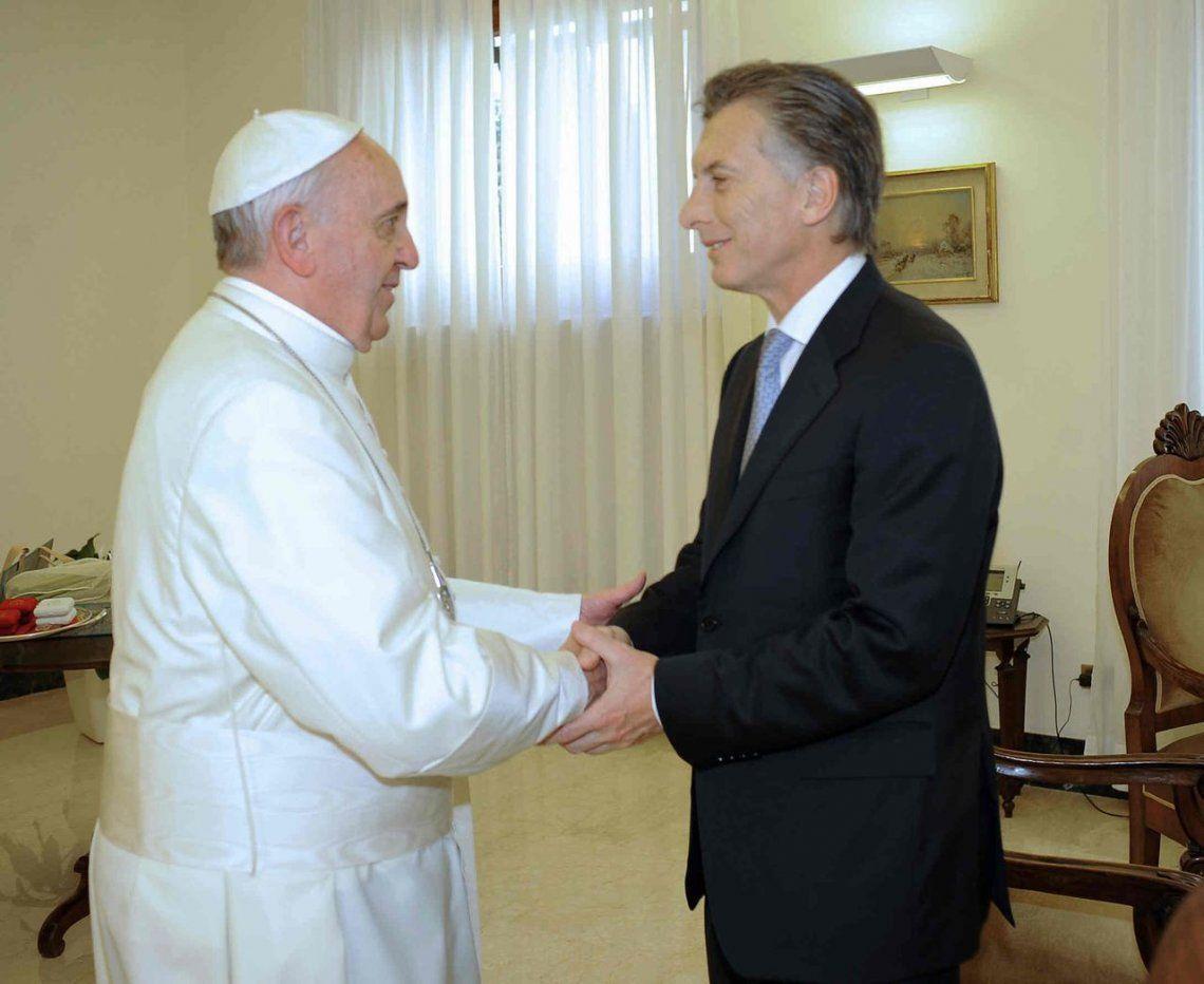 Macri le agradeció a Francisco el legado que está dejando a la humanidad