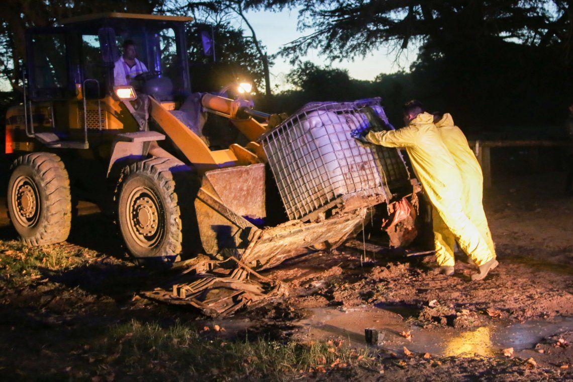 Hallaron residuos contaminantes en el Parque Pereyra Iraola