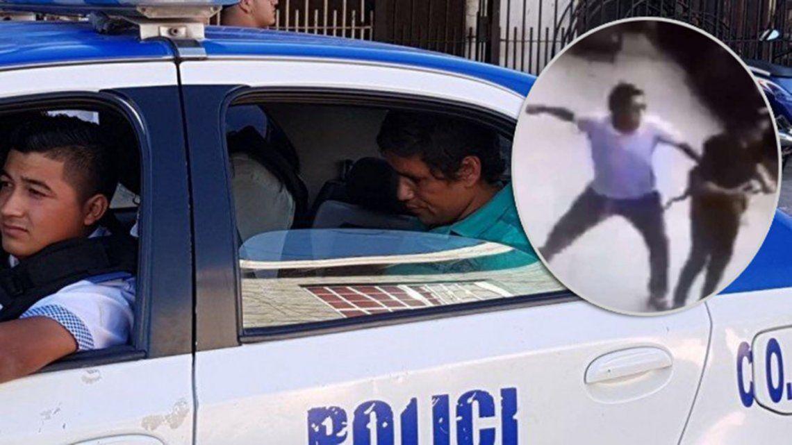 Vecinos atraparon al golpeador de Palermo