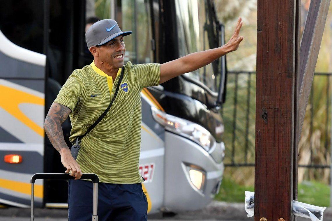 Tras el retraso por un desperfecto, el plantel de Boca llegó a Mendoza