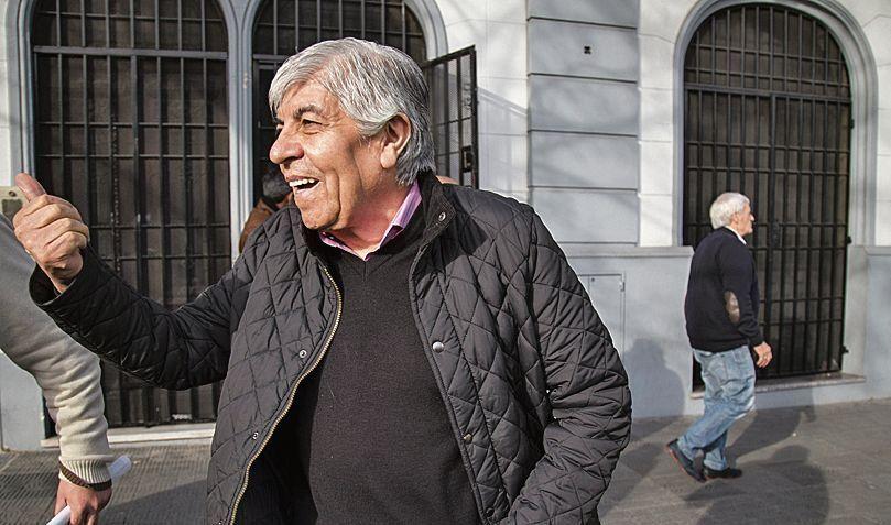 "Hugo Moyano: ""Le digo a Macri que si quiere meterme en cana, me meta"""