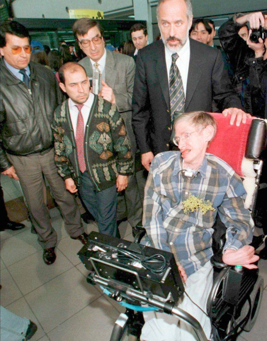 Aeropuerto de Santiago de Chile en 1997.