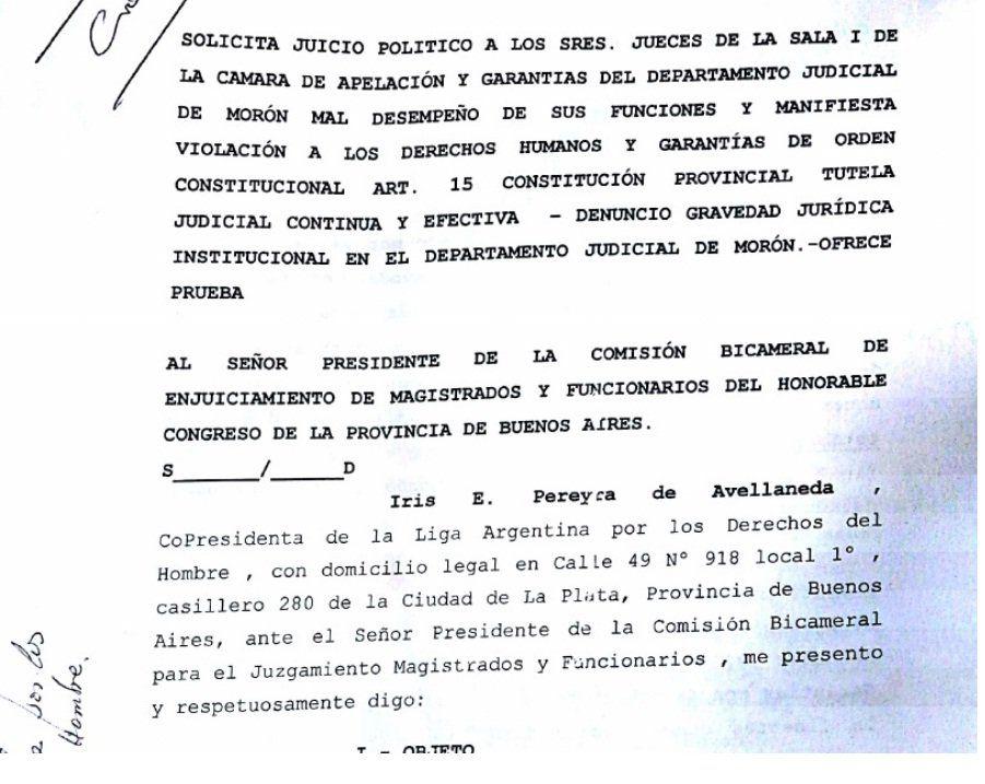 Garavano sentenció la suerte del Juez Fernando Bellido