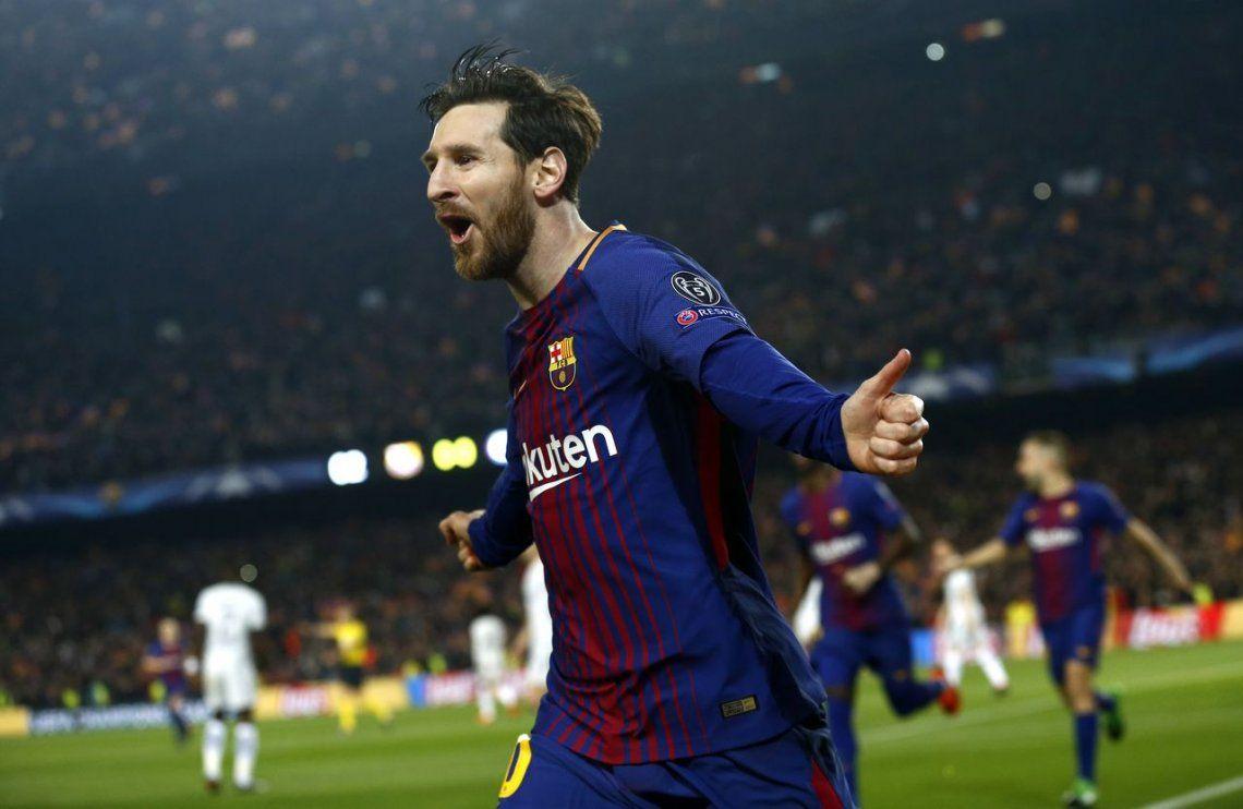 Messi brilló, Barcelona goleó a Chelsea y avanzó en la Champions