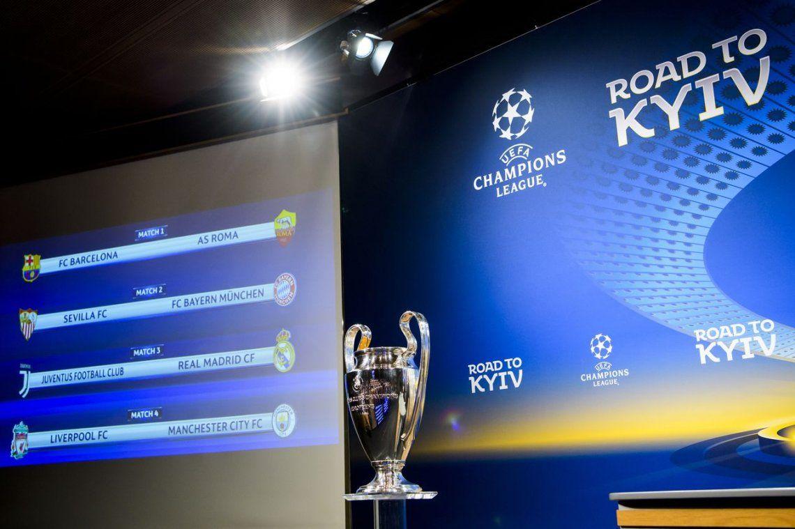Champions League: se sortearon los cruces de cuartos de final ...