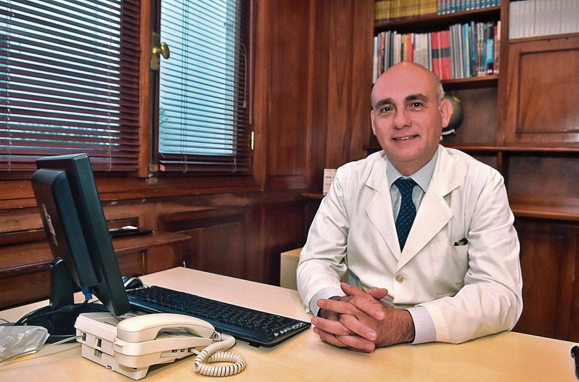 Daniel Moya, el médico que impulsa un tratamiento novedoso para la recuperación de lesiones