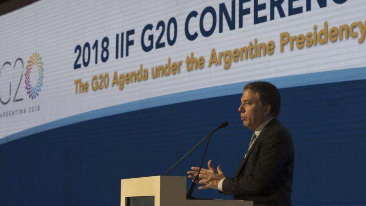 Reunión de ministros del G-20 y cortes en Capital Federal