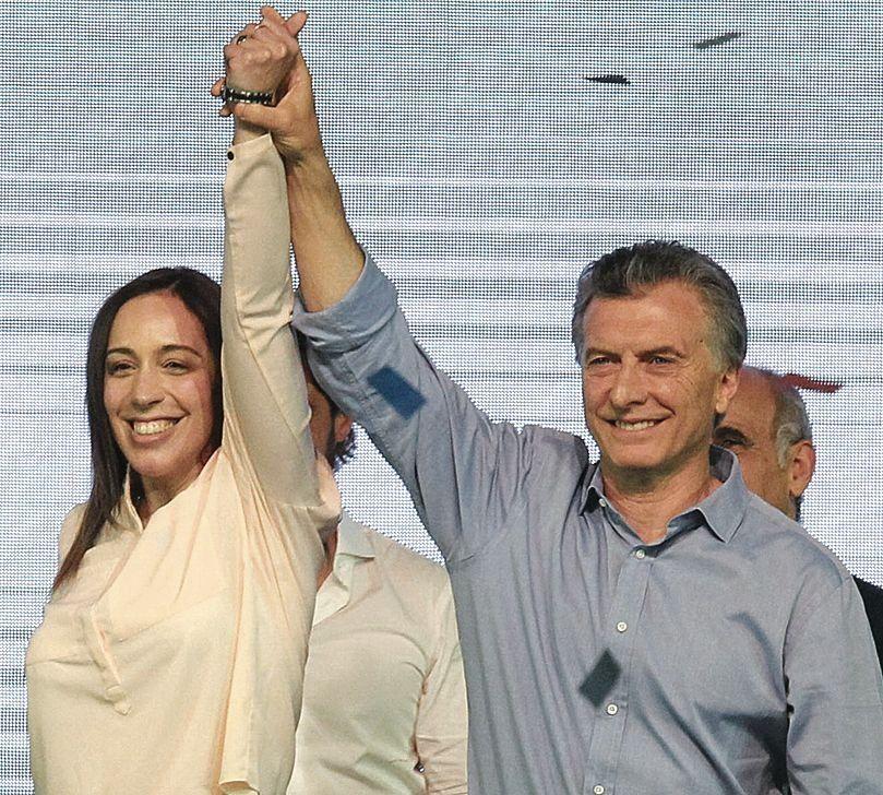 dLas cartas principales de Cambiemos para las próximas elecciones.
