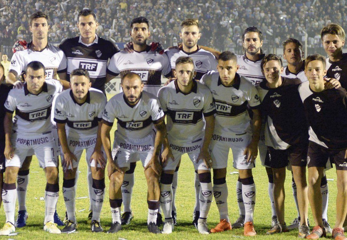 dLa formación de Platense que arrancó el partido del martes ante Estudiantes. Después