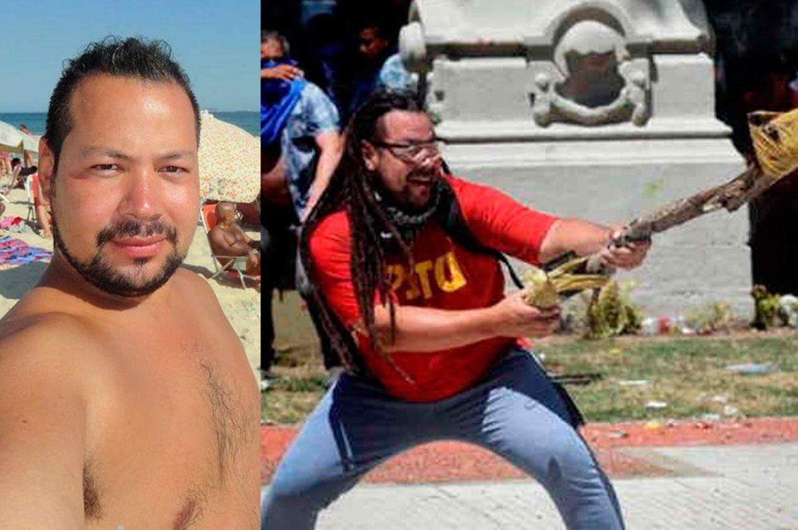 Sin rastas y con pelo corto: así fue la detención del Gordo Mortero en Uruguay