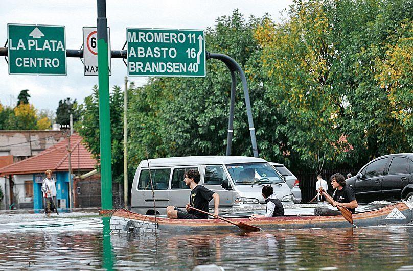 dLa Plata quedó bajo el agua aquel 2 de abril de hace 5 años.