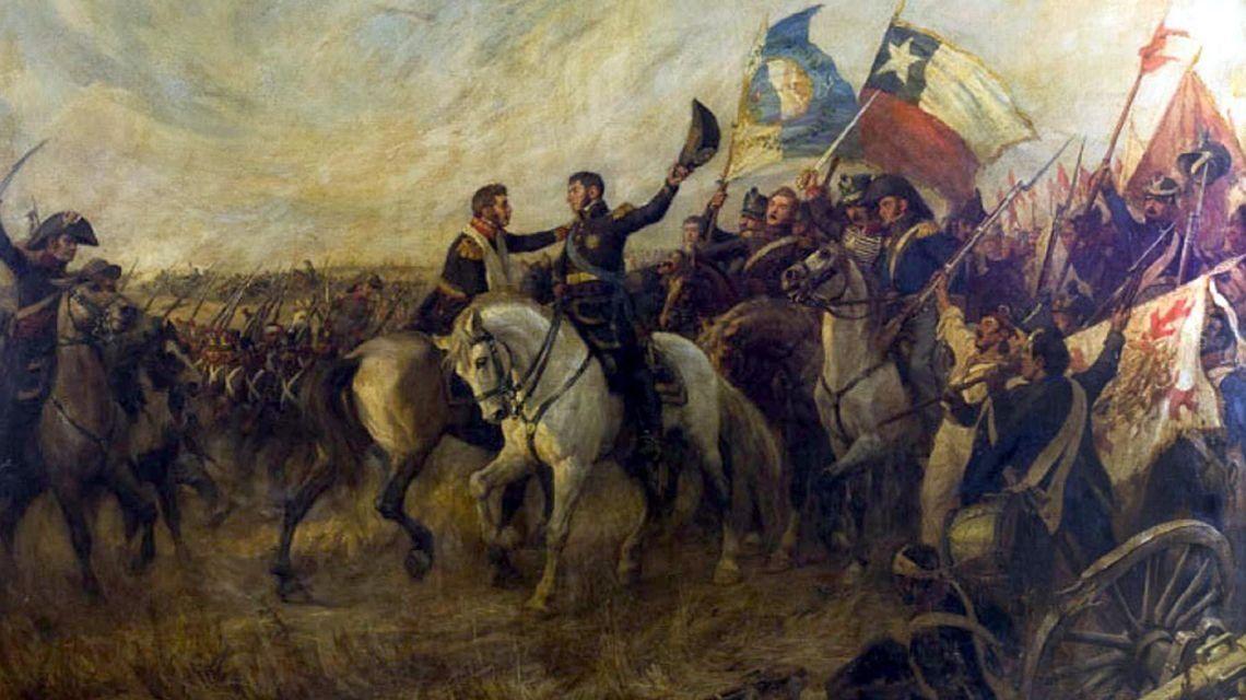 Bicentenario de la Batalla de Maipú, el decisivo triunfo de San Martín para la independencia de América del Sur