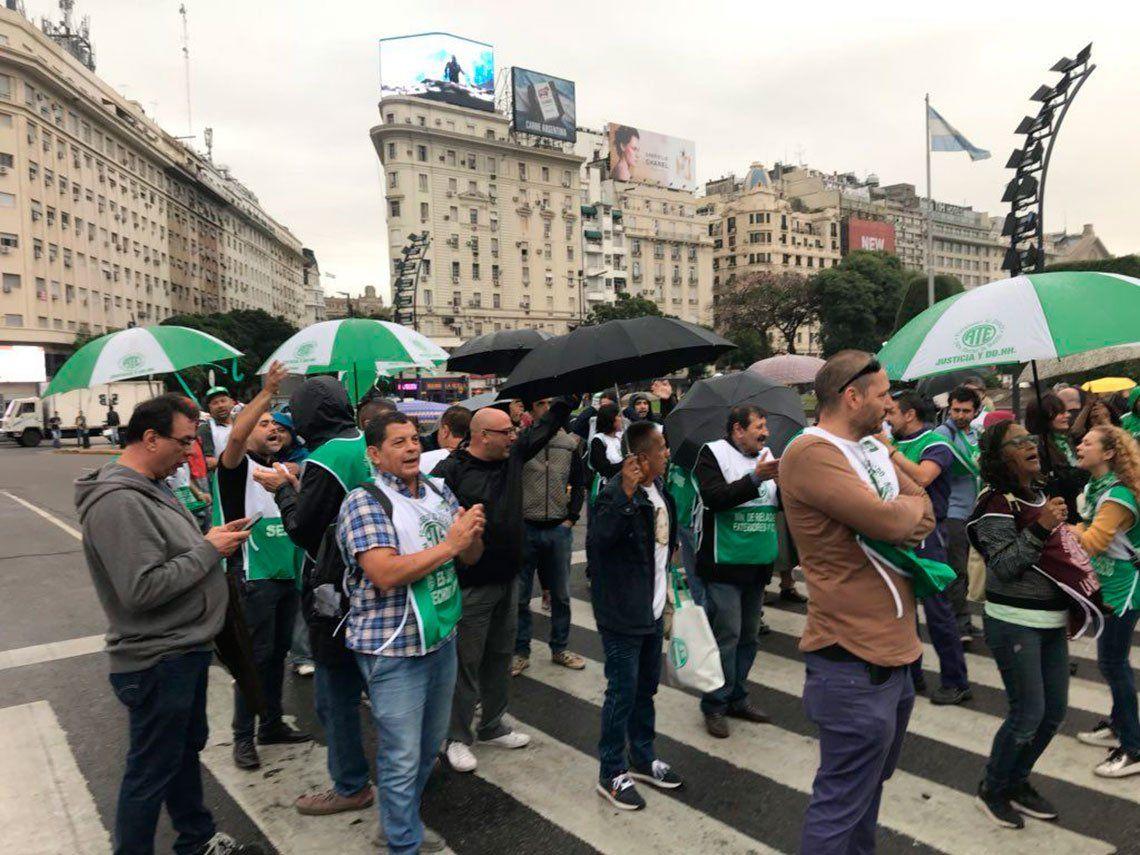 Paros, protestas y movilizaciones colapsaron la Ciudad de Buenos Aires