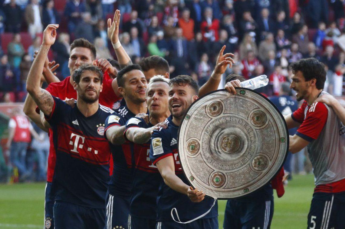Bayern Munich confirma su reinado en el fútbol alemán con su sexto título consecutivo