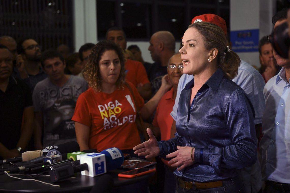 El PT convoca a ocupar Curitiba y Brasilia hasta la liberación de Lula
