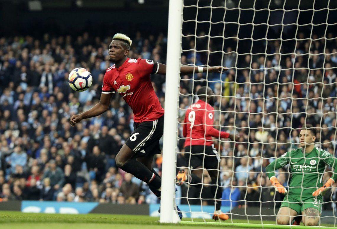 El United le aguó la fiesta al City en el clásico de Manchester
