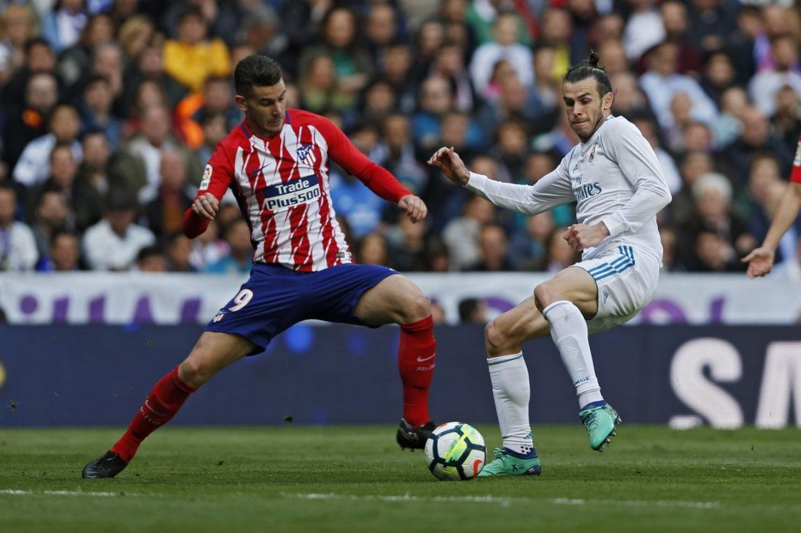 El Atlético y el Real empataron en el clásico de Madrid
