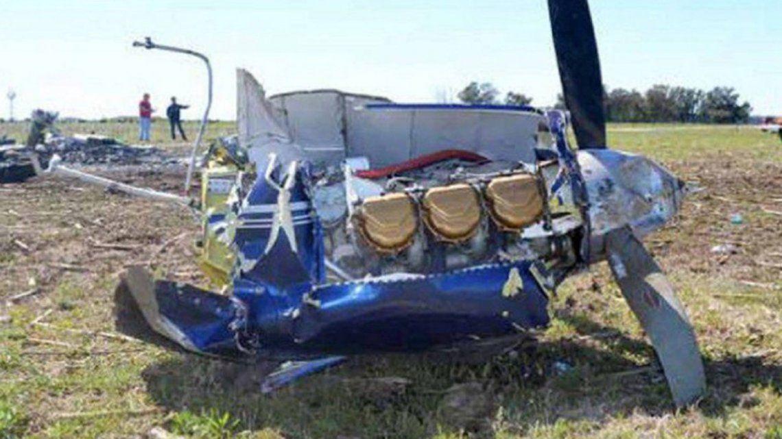 Se estrelló una avioneta en La Pampa y murieron sus 5 tripulantes