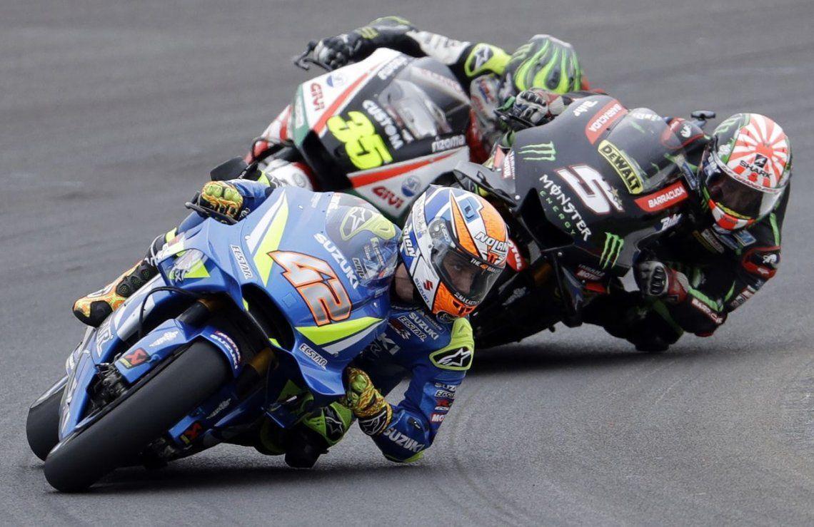 Santiago del Estero vibró con el espectacular Moto GP: ganó Crutchlow