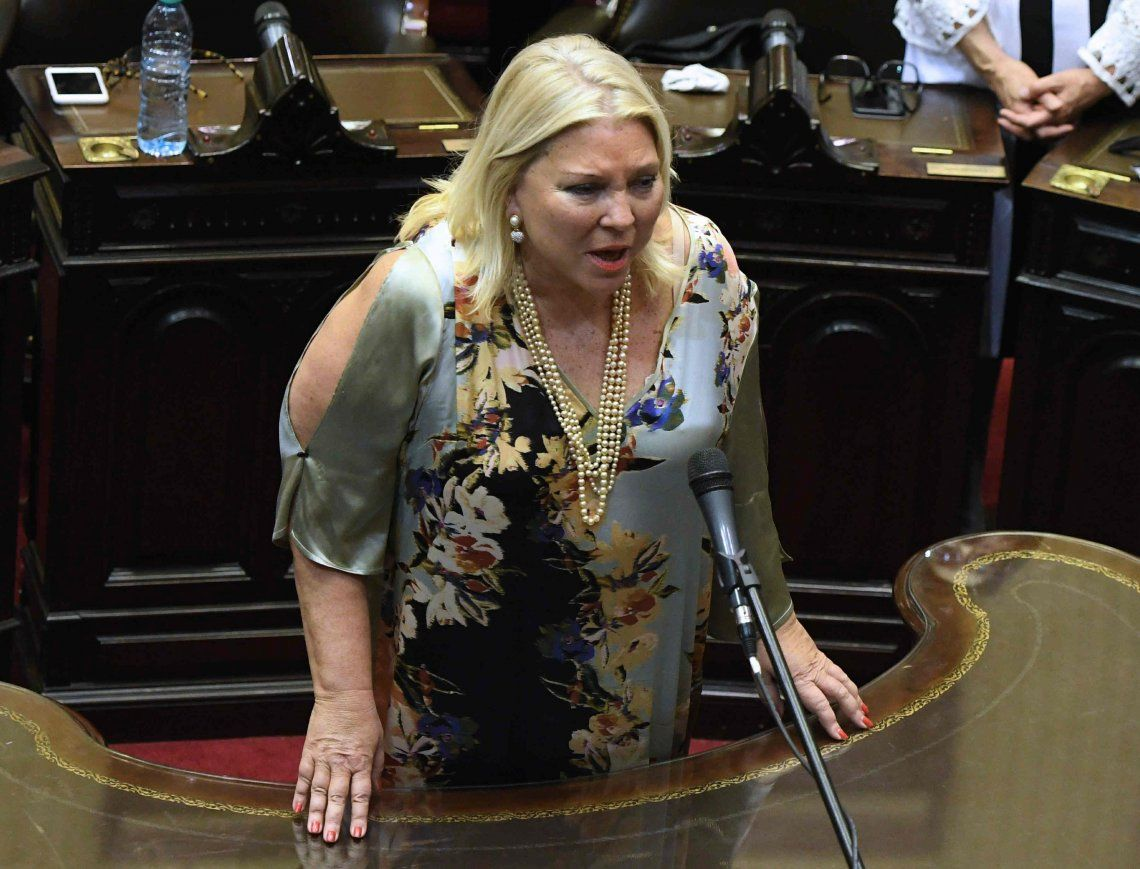 Carrió anunció que ampliará denuncia contra Lorenzetti