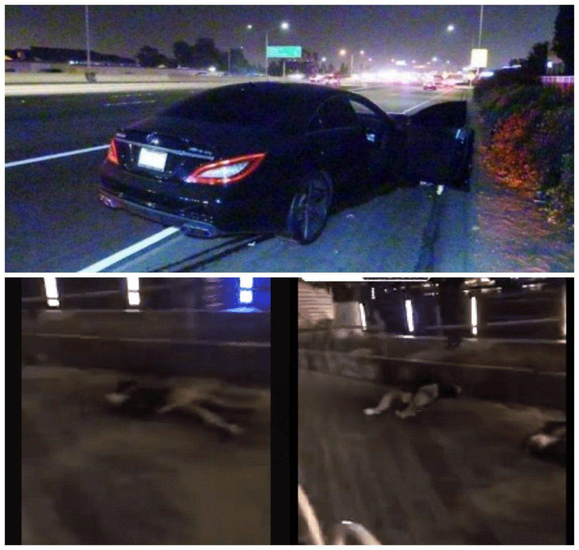 Video | Tenían sexo en la ruta y un auto les pasó por encima: acabaron muertos