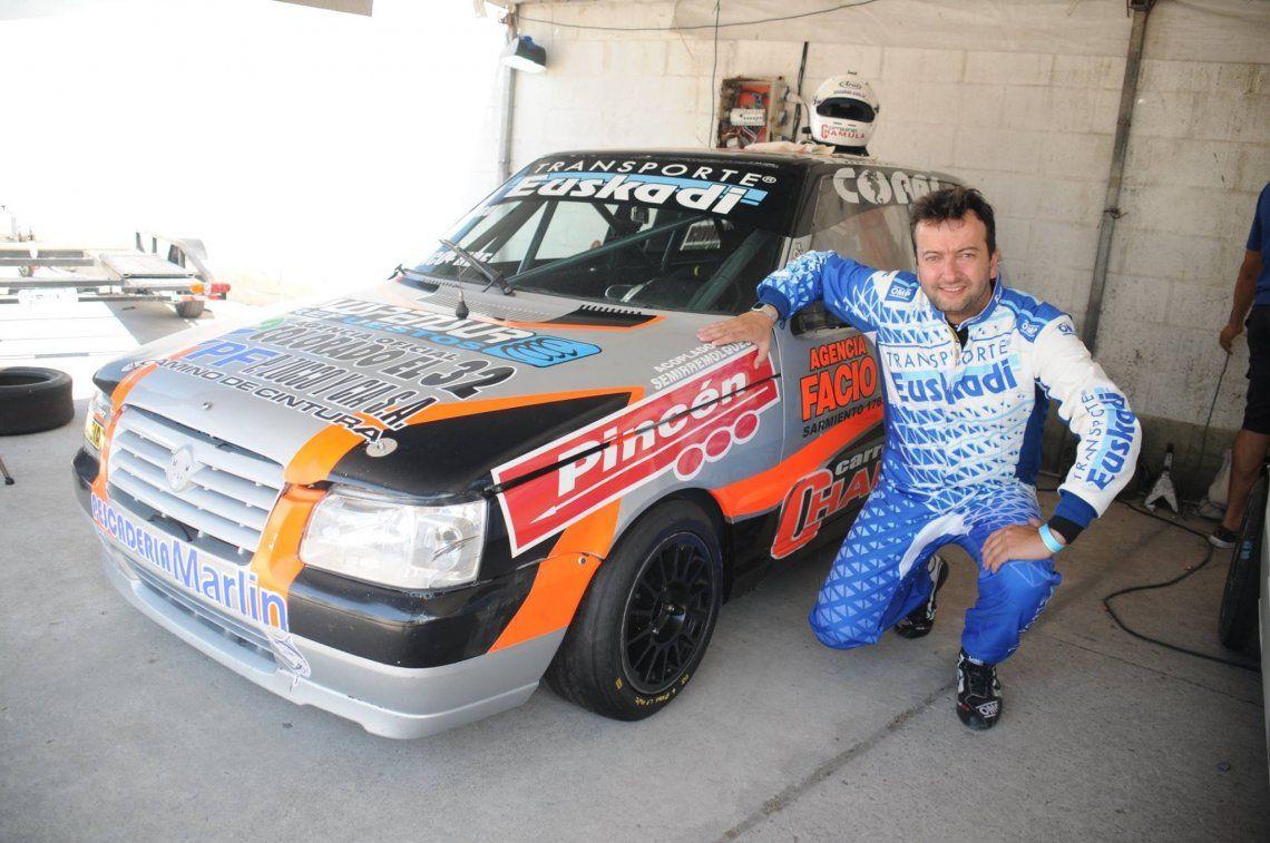 Otegui era un apasionado de los autos de carrera y el automovilismo