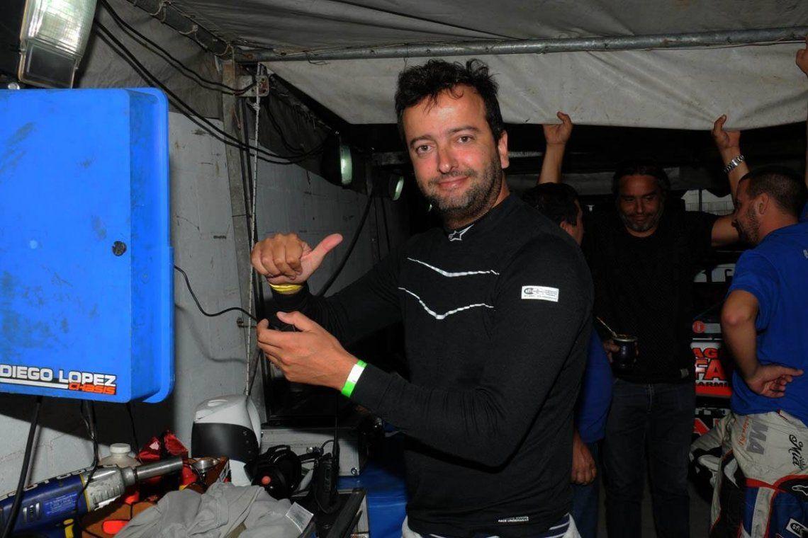 Juan Ignacio era muy querido por sus colegas y respetado en el ambiente motor