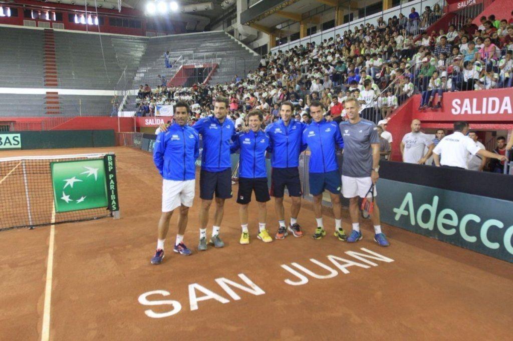 Para volver a la elite: Argentina tiene rival en el Repechaje de la Davis
