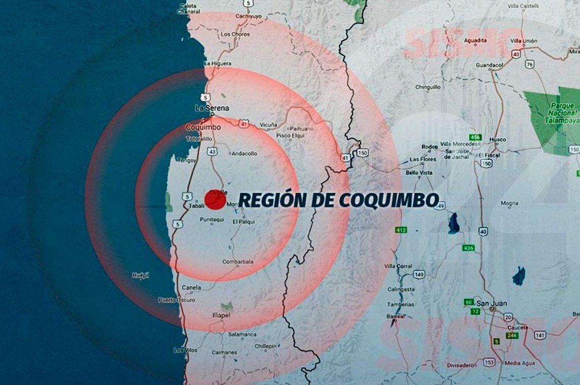 Sismo de 6.2 grados en Chile se sintió en cuatro provincias argentinas