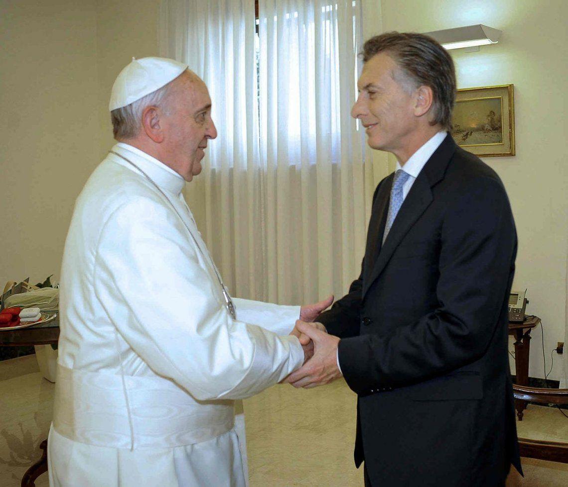 El Papa le envió una carta a Macri: Lo animo a seguir trabajando