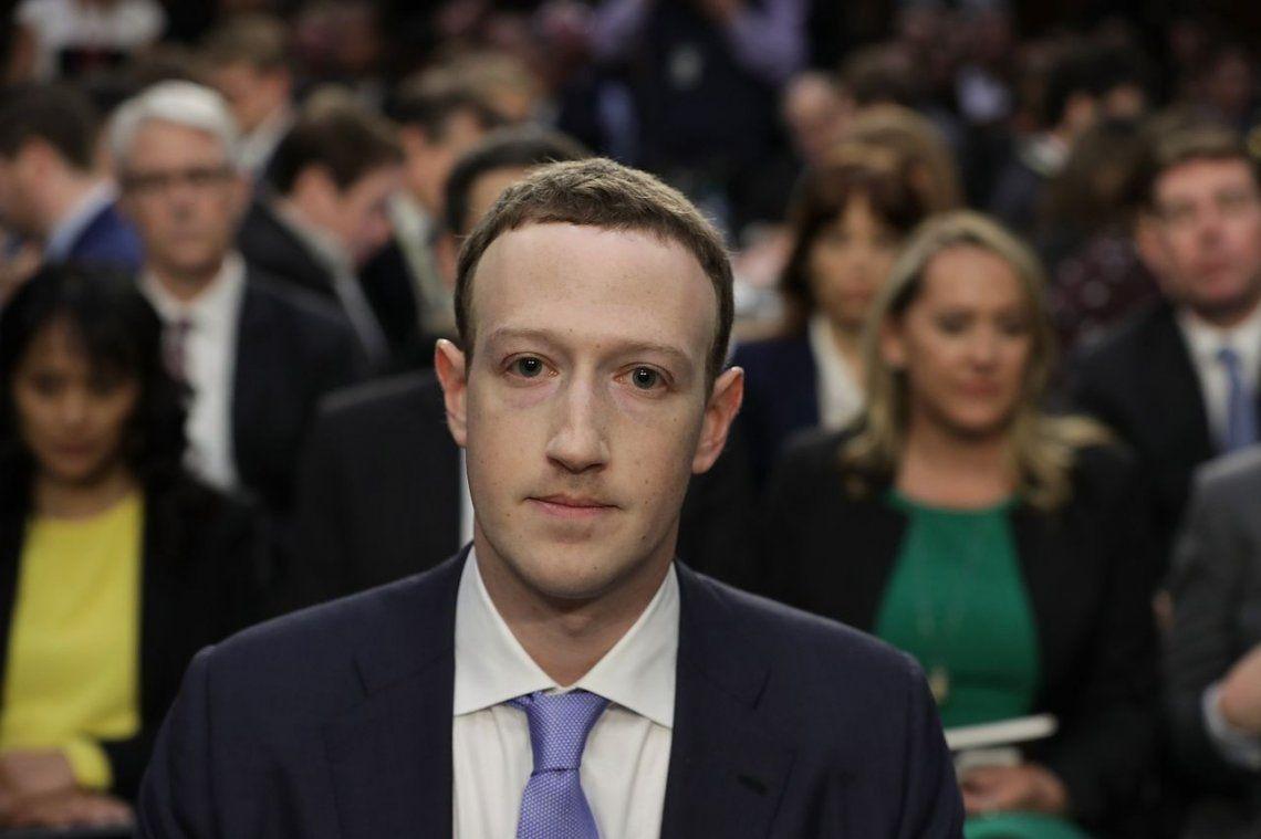 Zuckerberg enfrentó al Senado de EEUU por el uso indebido de datos de Facebook