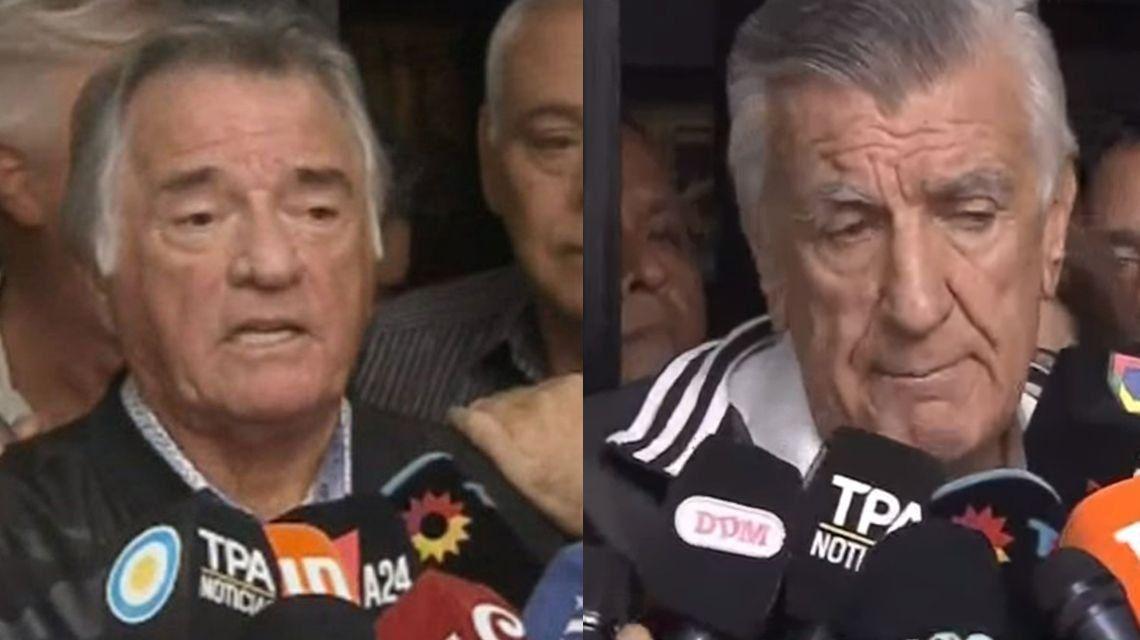 Luis Barrionuevo dijo que es el interventor del PJ y José Luis Gioja apuntó contra Mauricio Macri