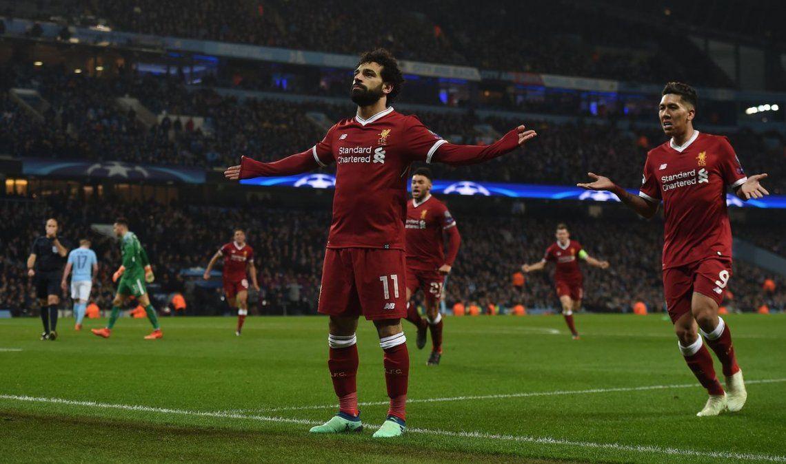 Liverpool supo aguantar el aluvión del City y avanzó a semifinales