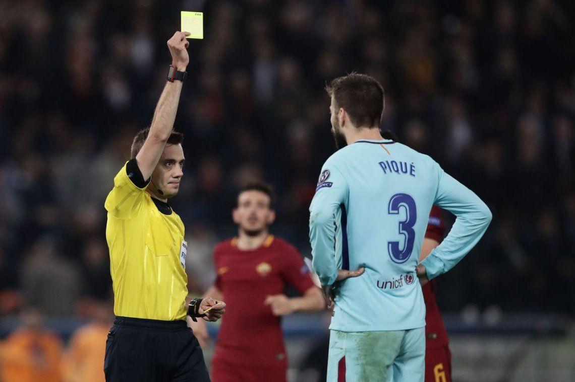 La debacle de Barcelona ante Roma en imágenes