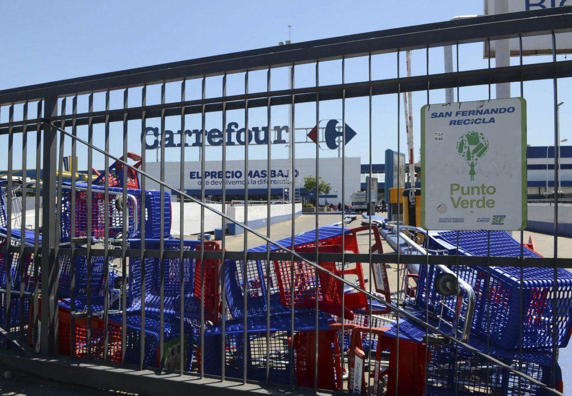 Por acuerdo entre Carrefour y el gremio de Comercio habrá retiros voluntarios al 150%