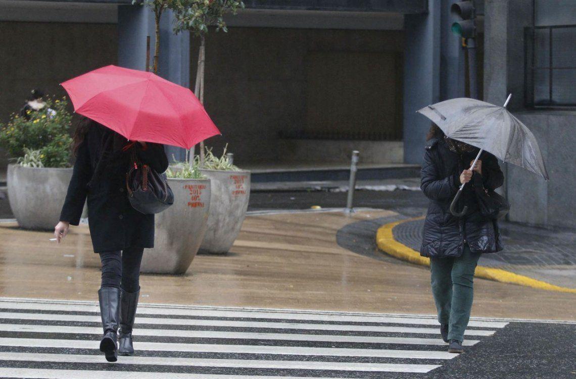 Alerta por fuertes tormentas y posible caída de granizo en la Ciudad