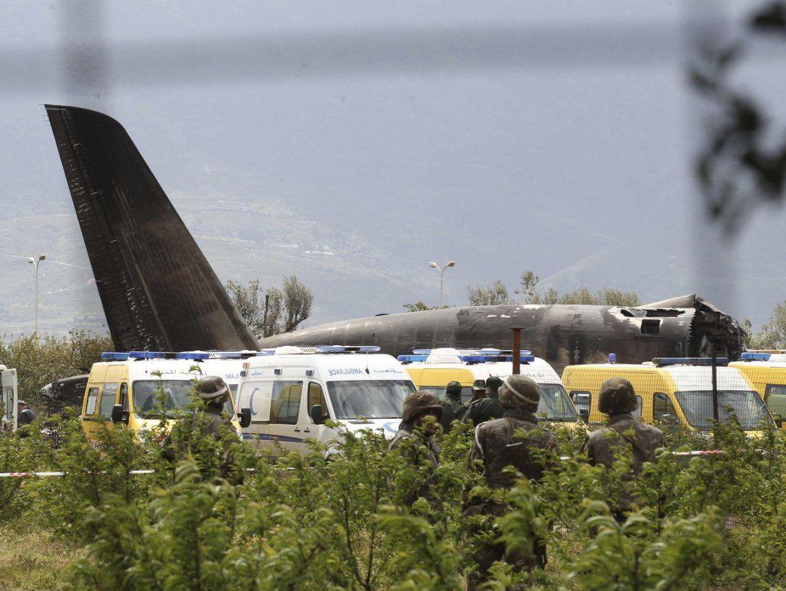 Se estrelló un avión militar en Argelia: al menos 257 muertos