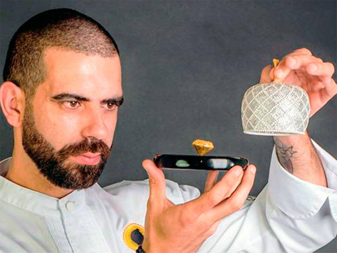 ¿Cómo es el bombón de oro más caro del mundo?
