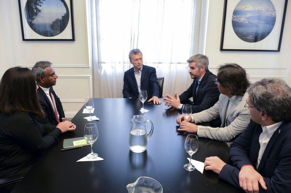 Con el foco en los DDHH, Macri recibió al secretario general de Amnistía