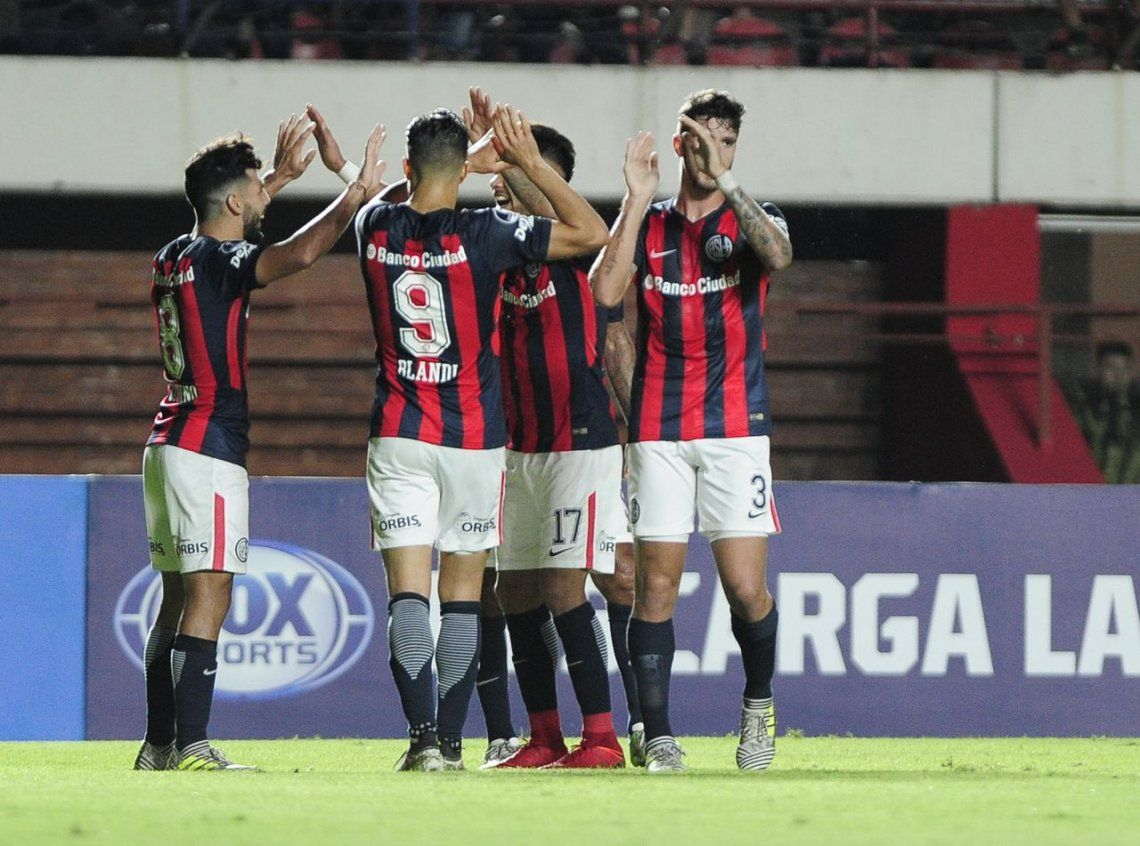 San Lorenzo se recuperó con un triunfo vital ante Mineiro en su debut copero