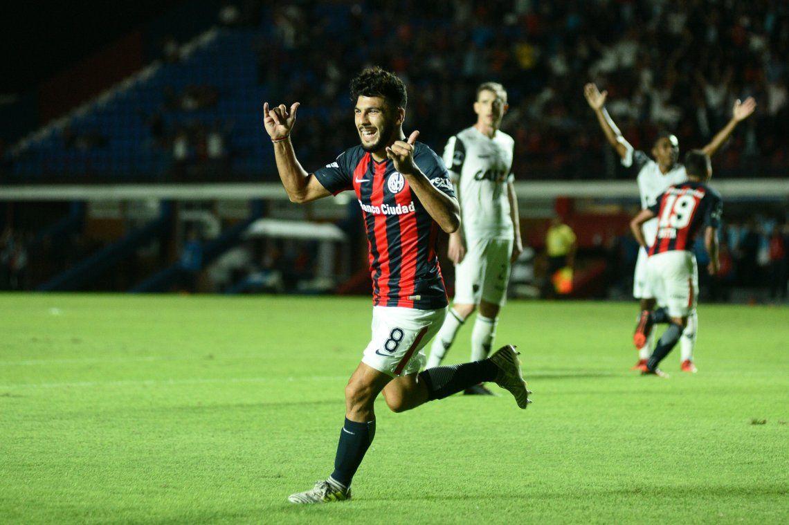El uno X uno de San Lorenzo frente a Atlético Mineiro
