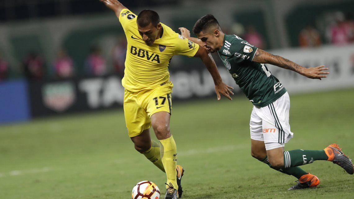 El uno X uno de Boca frente a Palmeiras