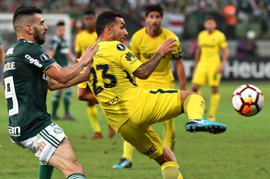 El empate agónico de Boca en Brasil, en fotos