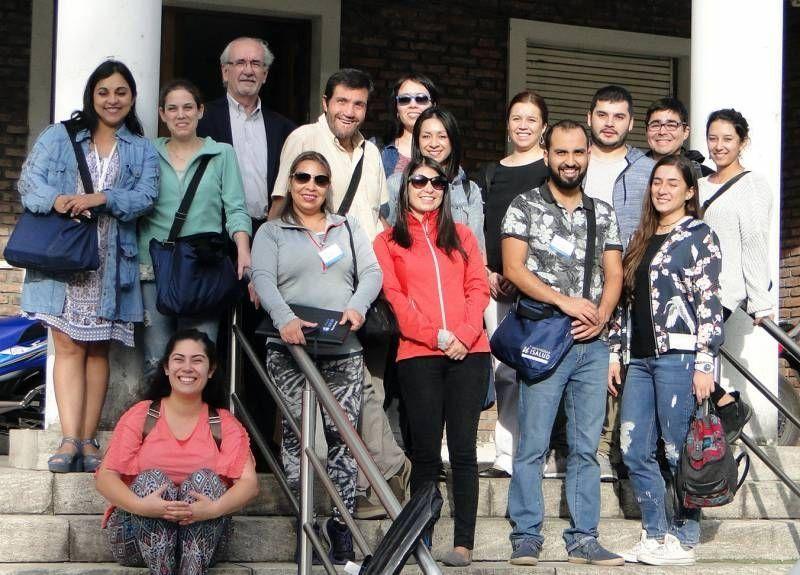 Estudiantes chilenos visitaron el CUCAIBA
