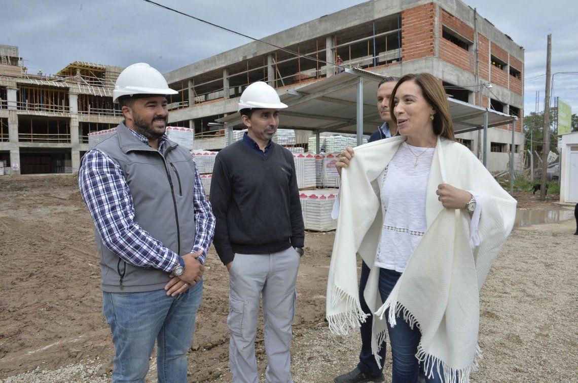 Vidal recorrió Dolores y Lezama mientras se oficializa el pago del 5% de aumento a los docentes como adelanto de paritaria
