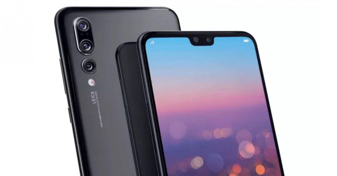 Huawei presentó su nuevo smartphone con triple cámara